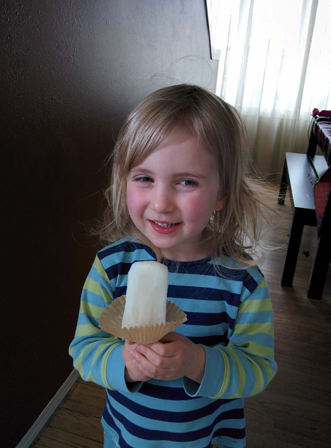 Lime Ice Pops